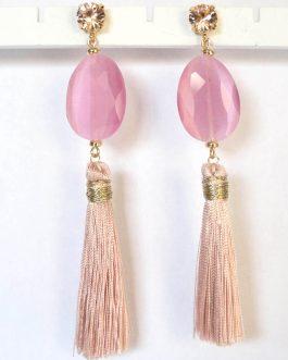 Oorbellen Firenze roze