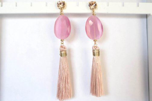 Oorbellen Firenze roze accessoires Florentini