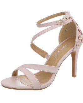 Sandalen met hak Florence roze