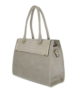 Handtas medium Ayla taupe