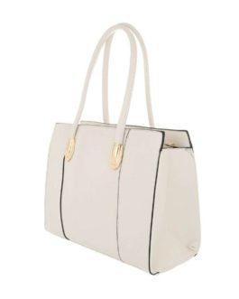 Handtas medium Alicia beige