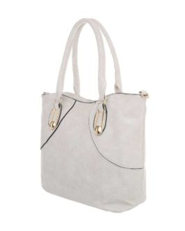 Handtas medium Bella beige