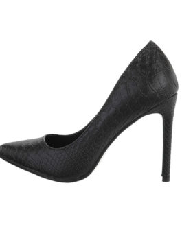 High-heel pumps Lauren zwart