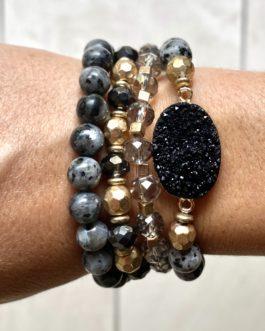 Armband Cyprus zwart