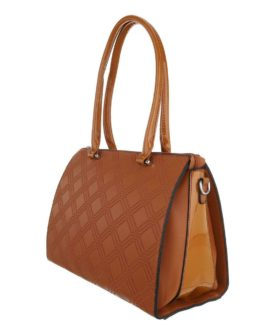 Handtas medium Lisa camel