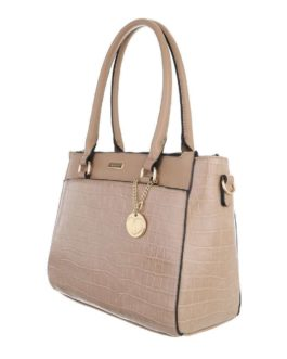 Handtas medium Olivia taupe