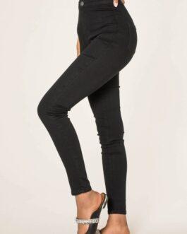 High waist jeans Nina Carter zwart