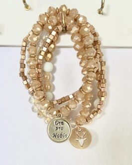 Armband Annecy beige