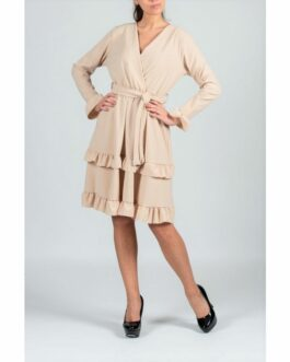 Midijurk Esther beige